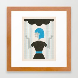 Over the Weather Framed Art Print