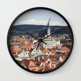 Český Krumlov Wall Clock