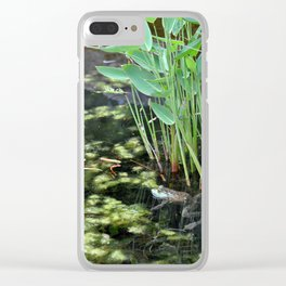 American Bullfrog Clear iPhone Case