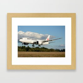 Japan Airlines Boeing 787 Framed Art Print