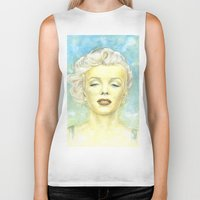comic book Biker Tanks featuring Marilyn Monroe comic book cover by Storm Media
