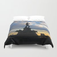 david Duvet Covers featuring David by Ken Seligson