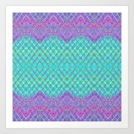 Ocean Valances Pattern Art Print