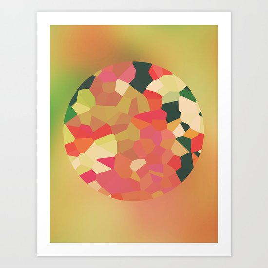 Pieces Art Print