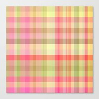 square Canvas Prints featuring Square  by Susann Mielke