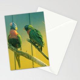 Rainbow Lorikeet Parrot Birdlife Australia Biak Lorikeet Stationery Cards