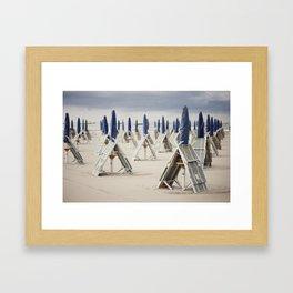 Parasols Framed Art Print