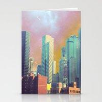 dallas Stationery Cards featuring Dallas Ya'll by Lynsey Ledray