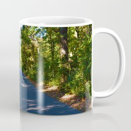 The road to Point Pelee National Park, Southern Ontario, Canada Coffee Mug