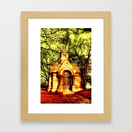 Cave Hill Haunting Framed Art Print