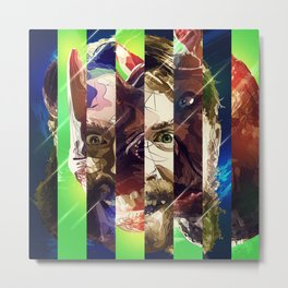 Rocksteady, TMNT, Out of the Shadows, Ninja Turtles Metal Print