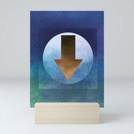 Arrow Composition VIII Mini Art Print