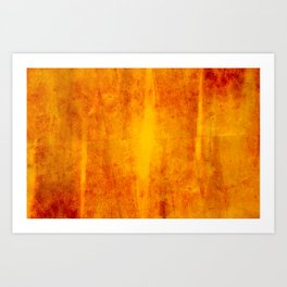 Primitive Composition (Abstract Allegory) III Art Print