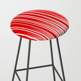 Red Track Bar Stool