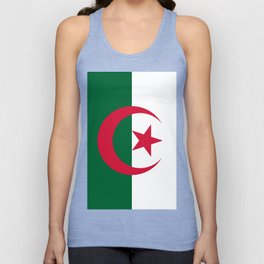 Algeria Flag Unisex Tank Top