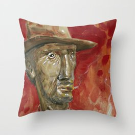 Lucky Luke Throw Pillow