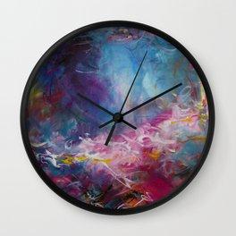Midsummer_Rose Magenta_003 Wall Clock