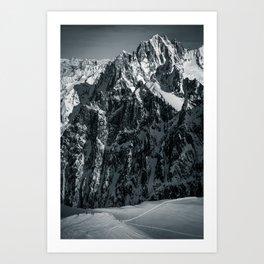 Chamonix Art Print