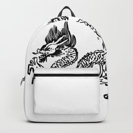 Black Line Dragon Backpack