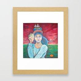 Lake Keeper Framed Art Print