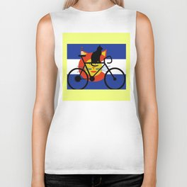 Brews and Mews Biker Tank