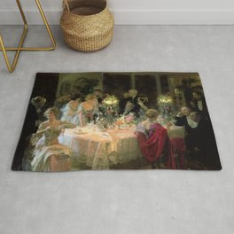 Jules Grun's The Dinner Party Rug