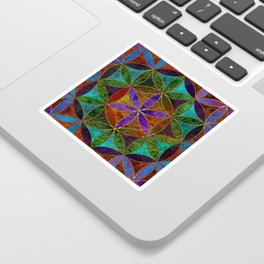 The Flower of Life (Sacred Geometry) 2 Sticker