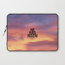 He Has Risen - Bible Lock Screens Laptop Sleeve