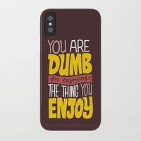 internet iPhone & iPod Cases featuring Internet Comments by Chris Piascik
