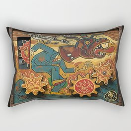 Paul Chatem_The Palm of a Cad Rectangular Pillow