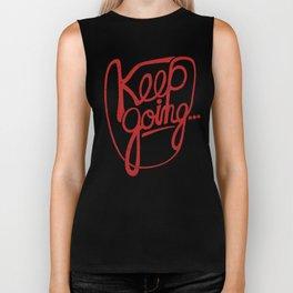 KEEP GO/NG Biker Tank