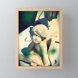 Stillness takes over Framed Mini Art Print