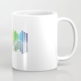 Sheet Music EQ Equalizer Modern Sheet Music Teacher Music Coffee Mug
