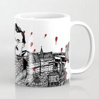 germany Mugs featuring Germany by Matt Ferguson