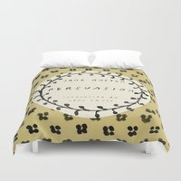 jane austen Duvet Covers featuring Remember Jane Austen (5) - Persuasion by MW. [by Mathius Wilder]
