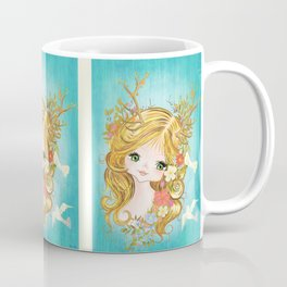 Lovely Lady Of The Woodlands Coffee Mug