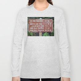 Trail Miles Long Sleeve T-shirt