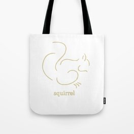 Squirell Tote Bag