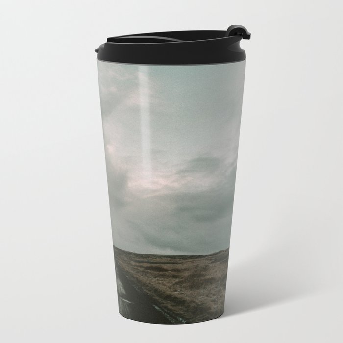 Miles to Go x Iceland Road Metal Travel Mug