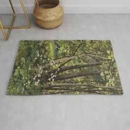 "Ivan Shishkin ""Forest flowers"" Rug"