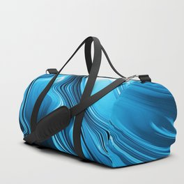 Streaming Deep Blues Duffle Bag