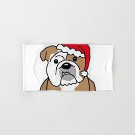 Bully Christmas Hand & Bath Towel