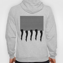 Legs and Stripes Hoody