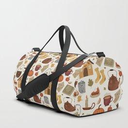 Autumn Cottage Days Duffle Bag