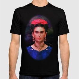 FRIDA KAHLO GEOMETRIC PORTRAIT T-shirt