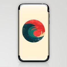 The wild ocean iPhone & iPod Skin
