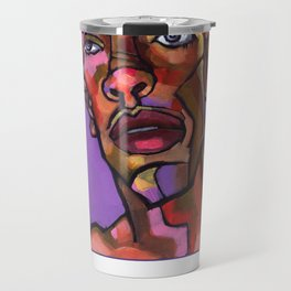 Louie After His Shower Travel Mug