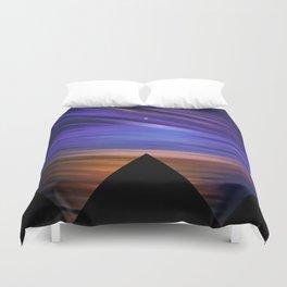 ESCAPE - Pyramids Silhouette Duvet Cover