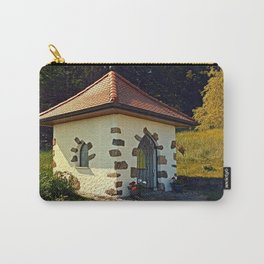 Small chapel up on the mountain Carry-All Pouch