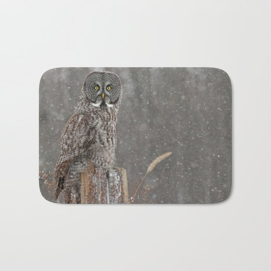 Flurries in the forecast Bath Mat